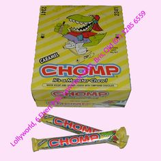 Cadbury Chomp a classic Cadbury Chocolate with Wafer biscuit and caramel in the centre. Cadbury Chocolate, 80s Kids, Champs, Chocolates, Party Themes, Fun Stuff, Caramel, Nostalgia, African