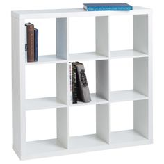 Cube Bookcase to substitute as a tv stand.