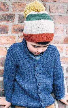 1509: Design 17 Lue #strikk #knit #ull #wool #SandnesGarn