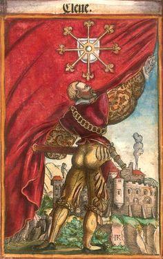 """Kleve [Cleve] (= Clèves) (f°25) -- Koebel, Jacob, """"Wapen des heyligen römischen Reichs teutscher Nation"""", Franckfurth am Main, 1545 [BSB Ms. Rar. 2155]"""