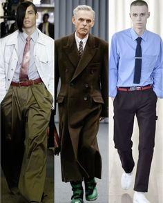 <보그> 편집장(@shinkwangho)이 2017 가을/겨울 남성복 컬렉션에서 채집한 룩 셋 : DADDY-CORE  남성복 패션 씬의 최전선에 선 지금 가장 재기발랄한 디자이너들이 부른 아빠의 청춘. 마틴 로즈와 발렌시아가 고샤 루브친스키 쇼엔 모두 '넥타이' 맨 회사원(Company Men)이 등장합니다. 마치 출근길처럼요. 옷장 속 오래된 아빠의 양복처럼 품 넓은 바지를 허리춤까지 끌어올리곤 타이 핀에 (회사) 뱃지까지 찬 '대디 코어'를 선보였죠. 물론 젊은 아빠(?)는 트랙팬츠를 골라입었지만! 멋쟁이들은 벌써 아빠 옷장에서 광나는 실크 넥타이와 배바지를 찾아뒀겠죠? 아참 신발장까지 뒤질 필요는 없어요. 양복 구두는 넣어두고 늘 신던 운동화를 꺼낼 것! (INDIGITAL Gukhwa Hong @hongukah) _ Here are #DaddyCore looks captured from the #17FW #MenswearCollection by the…