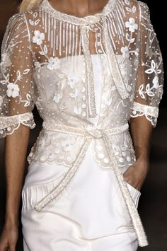 Details at Valentino Haute Couture