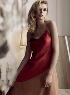 The Art of Seduction - Karlina Caune by Regan Cameron for Harper's Bazaar UK March 2016 Jonathan Saunders, Art Of Seduction, Harpers Bazaar, Feminine, Elegant, Womens Fashion, Sexy, Editorial, March