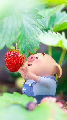 Pig Wallpaper, Cute Baby Wallpaper, This Little Piggy, Little Pigs, Kawaii Anime Girl, Anime Art Girl, Animated Cow, Cute Rabbit Images, Cute Piglets