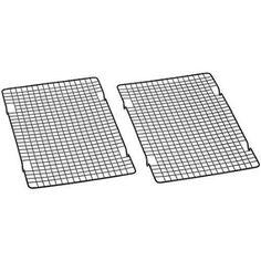 Amazon.com: Baker's Secret 1061483 10-by-16-Inch Nonstick Cooling Rack, Set of 2: Kitchen & Dining