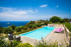 Entire home/flat in Spartia, Greece. Our 2 bedrooms guest house is ideally built and equipped to offer maximum comfort and relaxation. The legendary views of the Ionian sea along with the magnificent pool, the aromas of the surrounding carefully picked flowers and the amenities of th...