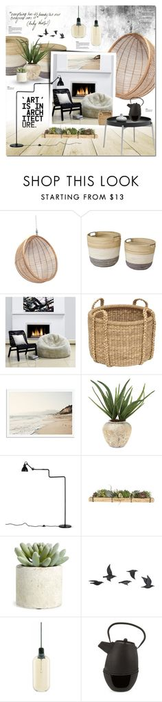 """""""Everything has its beauty"""" by justlovedesign ❤ liked on Polyvore featuring interior, interiors, interior design, home, home decor, interior decorating, John-Richard, Jayson Home, Allstate Floral and Normann Copenhagen"""