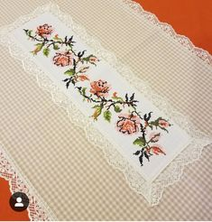 Cross Stitch Designs, Table Runners, Sewing, Etsy, Instagram, Towels, Cross Stitch, Craft, Table Toppers