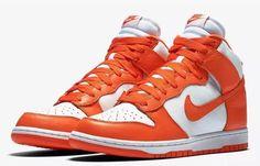 4a89bbaf9add Nike Dunk Retro QS 850477–101 White Orange Blaze Syracuse Mens Shoes size 9
