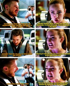 """""""You put me in a time period where they wanted to hang me for being a witch!"""" - Sara and Rip #LegendsOfTomorrow"""