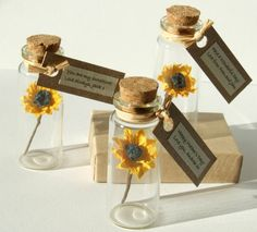 I've just found Tiny Sunflower In A Bottle With Personalised Message. Brighten someone's day with this beautiful little paper sunflower in a bottle! Birthday Message For Mother, Mother Birthday Gifts, Birthday Messages, Mother Day Gifts, Birthday Cards, Paper Sunflowers, Cardboard Gift Boxes, Sunflower Gifts, Mini Glass Bottles