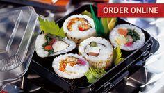 Order Sushi Online! Delivered to your door! Any good? Hmmmm