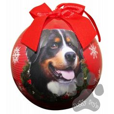 Bernese Mountain Dog Shatterproof Dog Christmas Ornament http://doggystylegifts.com/products/bernese-mountain-dog-shatterproof-dog-christmas-ornament