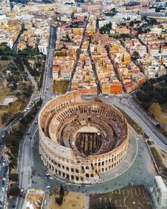 The Colosseum seen from above, Rome, Italy Photo by © Sagar Lamsal Places To Travel, Places To See, Places Around The World, Around The Worlds, Visit Rome, Beau Site, Adventure Is Out There, Italy Travel, Wonders Of The World