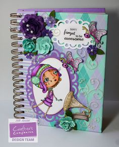 Made with Verity Rose goodies from #crafterscompanion