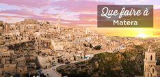Visiter Matera, dans le sud de l'Italie: Tous nos conseils Paris Skyline, Grand Canyon, Nature, Travel, Guide, Italia, Hobbies, Tips, Places
