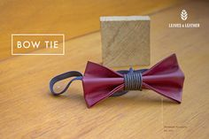 Bow Tie - Red Color