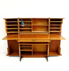 Danish Modern Teak Foldout Desk Mid Century by TheModernHistoric, $1050.00