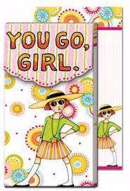 momsmomsmoms Mary Engelbreit You Go Girl Notepad