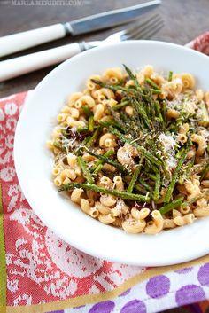 Roasted Asparagus & Sun-Dried Tomato Pasta | FamilyFreshCookin...