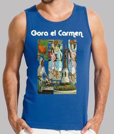 Camiseta hombre sin mangas, El Carmen 2017 disponible en 4 colores por 20,90€
