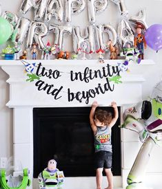 2nd Birthday Party For Boys, Second Birthday Ideas, Birthday Themes For Boys, Toy Story Birthday, Buzz Lightyear, Cumple Toy Story, Camden, Auntie, Leo