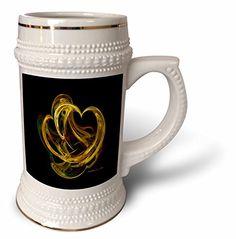 SmudgeArt Fractal Art Designs - Heart of gold - Fractal Art - 22oz Stein Mug (stn_6691_1) 3dRose http://www.amazon.com/dp/B01479PAF4/ref=cm_sw_r_pi_dp_1Z8bwb1NTBFX2