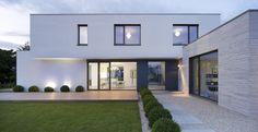 Arch Interior, Interior And Exterior, Cubes, Facade House, House Facades, House Designs Ireland, Container Conversions, Driveway Design, Shipping Container Homes