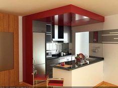 cocinas empotradas para apartamentos - Buscar con Google #decoraciondecocinasmodernas
