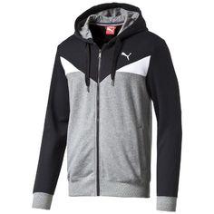 c5842eeff48  PUMA FUN CB Hooded Sweat Jkt TR  Men  Crishcz  style  sportswear