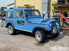 '75 CJ5 renegade - levis package, stripes,  AT tread whitewalls, period winch.