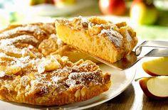 Voilà un gâteau aux pommes et amandes, facile et rapide à faire que tout le monde adore.