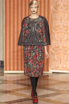 Antonio Marras - Collections Fall Winter 2013-14 folkloric floral