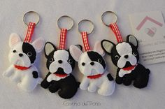 French bulldog ornaments- photo only