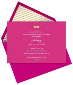 Kate Spade Wedding Invitations So In Love