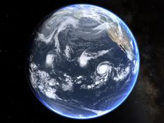 View from #space of 3 hurricanes in the Pacific Ocean this Monday! #Hurricane #Jimena, #Ignacio, & #Kilo. #HIwx via twitter. @alistairreign