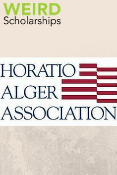 The Horatio Alger scholarship is awarded each year to 10-12 students. The award recognizes students for demonstrating leadership, aspiring to excellence, valuing higher education, upholding free-enterprise, community service, the desire to create a better future, and exhibiting personal initiative and perseverance. Most scholars have overcome personal hardships and excelled despite the challenges they faced.