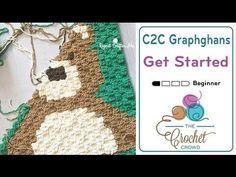 How To Crochet Corner to Corner (C2C) Graphghans for Beginners #CrochetTutorial
