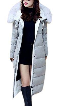 Allbebe Woman's Winter Fur Collar Hooded Long Down Jacket... https://www.amazon.com/dp/B01IERNE0S/ref=cm_sw_r_pi_dp_x_GSjvybMQYEDHR