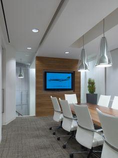 Conference Room | Interior Design | Davis Tix Chairs | H.Hendy Associates