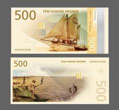 Norways New Banknotes Will Refresh Monetary Design Worldwide