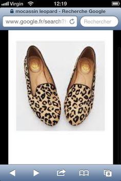 Mocassins ASH leopard ! I Love U
