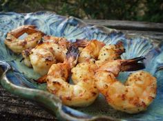 Simple Shrimp on the Barbie from Food.com: A very easy, healthy and delicious way to grill your shrimp. You can also skewer the shrimp if you want to. Just make sure to soak wooden skewers in warm water for 30 minutes. I didn't include the 1 - 2 hour marinating time. Enjoy!