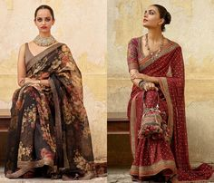 Saree Designs Sabyasachi's Newest Saree Assortment Will Stun You! Article Physique: Be a quir Designer Sarees Wedding, Bollywood Designer Sarees, Latest Designer Sarees, Latest Sarees, Bollywood Saree, Anarkali, Sabyasachi Sarees, Ghagra Choli, Sabyasachi Collection