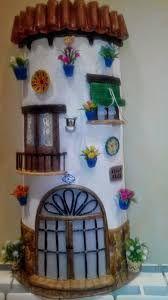 tejas decoradas chimeneas - Buscar con Google
