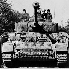 World War 2 Panzer IV German medium Tank