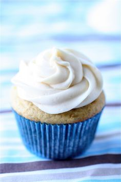 Banana bread cupcake with caramel cream cheese frosting. These are AMAZING! Will definitely be making them again.