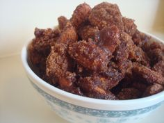 Crock Pot Cinnamon Almonds Recipe