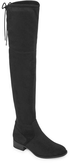 a54e5d4f408 Chase   Chloe Addison Corset Over-the-Knee Boot