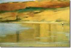 Clarice Beckett Cards and Prints Australian Painting, Australian Artists, Lauren Harris, Z Arts, Contemporary Landscape, Artist Painting, Painting Techniques, Female Art, Landscape Paintings